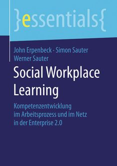 Social Workplace Learning - John Erpenbeck